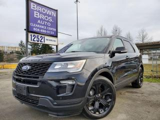 Used 2018 Ford Explorer SPORT for sale in Surrey, BC