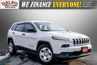 Used 2015 Jeep Cherokee SPORT / WOOD TRIM / REAR WIPER / SPOILER for sale in Hamilton, ON