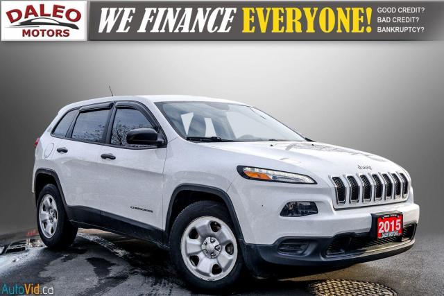 2015 Jeep Cherokee SPORT / WOOD TRIM / REAR WIPER / SPOILER Photo1
