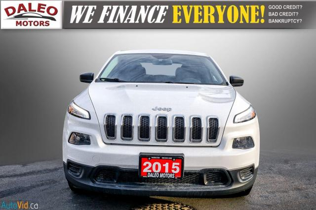 2015 Jeep Cherokee SPORT / WOOD TRIM / REAR WIPER / SPOILER Photo3