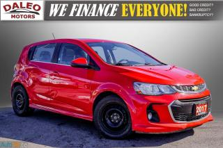 Used 2017 Chevrolet Sonic LT RS TURBO / ROOF / BACK UP CAM / HEATED SEATS for sale in Hamilton, ON