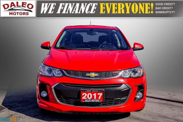 2017 Chevrolet Sonic LT RS TURBO / ROOF / BACK UP CAM / HEATED SEATS Photo3