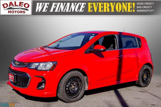 2017 Chevrolet Sonic LT RS TURBO / ROOF / BACK UP CAM / HEATED SEATS Photo4
