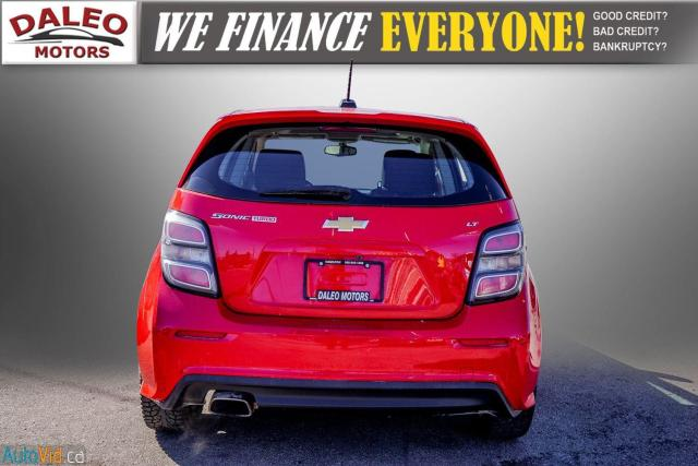 2017 Chevrolet Sonic LT RS TURBO / ROOF / BACK UP CAM / HEATED SEATS Photo7