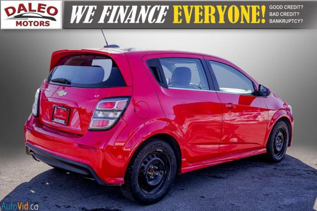 2017 Chevrolet Sonic LT RS TURBO / ROOF / BACK UP CAM / HEATED SEATS Photo8