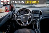 2017 Chevrolet Sonic LT RS TURBO / ROOF / BACK UP CAM / HEATED SEATS Photo41