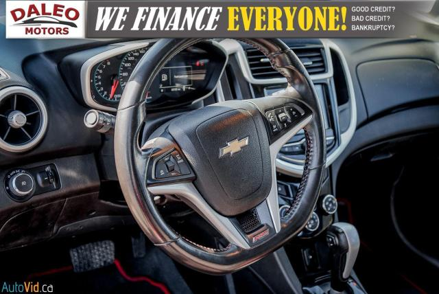 2017 Chevrolet Sonic LT RS TURBO / ROOF / BACK UP CAM / HEATED SEATS Photo17
