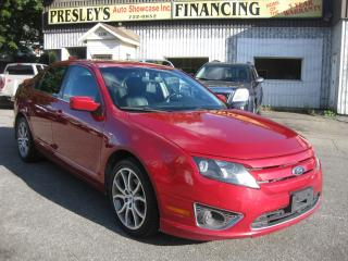 Used 2012 Ford Fusion SEL AWD AC Sunroof Htd Leather Bluetooth PL PM PW for sale in Ottawa, ON
