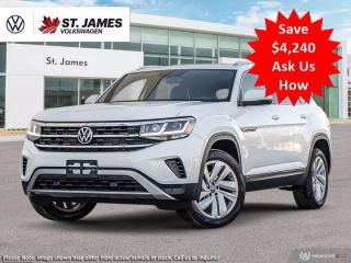 New 2021 Volkswagen Atlas Cross Sport Highline for sale in Winnipeg, MB