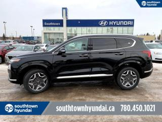 New 2021 Hyundai Santa Fe Caligraphy - 2.5T/Nav/360 Camera/Head Up Display/A/C Front Seats/Front&Rear Sensors/Nappa Leahter/Suede Headliner/Smart Park Assist/Blind View Monitor/Ambient Lighting for sale in Edmonton, AB