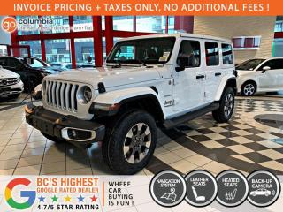 New 2021 Jeep Wrangler Sahara for sale in Richmond, BC