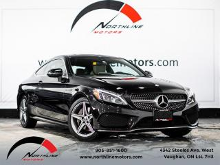 Used 2017 Mercedes-Benz C-Class C300 4MATIC Coupe/AMG Sport/Navigation/Camera for sale in Vaughan, ON
