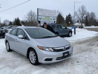 Used 2012 Honda Civic EX-L for sale in Komoka, ON