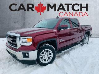 Used 2015 GMC Sierra 1500 SLE Z71 / CREW / NO ACCIDENTS for sale in Cambridge, ON