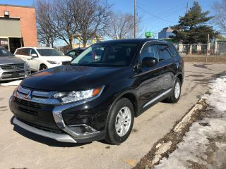 Used 2016 Mitsubishi Outlander ES,4CYLINDER,AWD,NO ACCIDENT,SAFETY+3YEARS WARRANT for sale in Toronto, ON