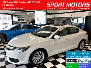 Used 2017 Acura ILX Premium+Camera+TECH+Lane Keep+BSM+ACCIDENT FREE for sale in London, ON