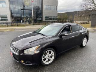 Used 2013 Nissan Maxima AUTO, Leather Sunroof, Low km, 3/ Y warranty avail for sale in Toronto, ON