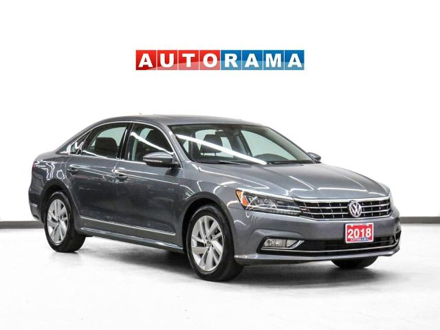 2018 Volkswagen Passat Comfortline Leather Sunroof Backup Cam