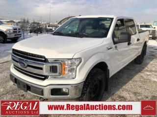 Used 2018 Ford F-150 XLT SUPERCREW LWB 4WD 5.0L for sale in Calgary, AB