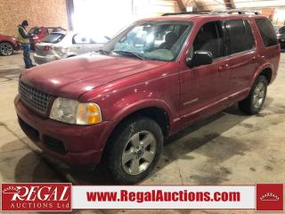 Used 2004 Ford Explorer Limited 4D Utility for sale in Calgary, AB