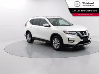 Used 2017 Nissan Rogue SV Moonrof PKG Sunroof,  Remote Start, Heated Seats, Accident Free for sale in Winnipeg, MB