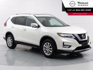 Used 2017 Nissan Rogue SV Tech PKG  Accident Free, Remote Start, Sunroof, Navigation for sale in Winnipeg, MB