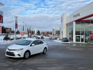 Used 2016 Toyota Corolla 4dr Sdn Auto S for sale in Pickering, ON