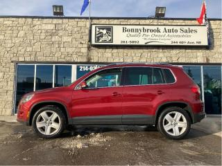 Used 2011 Volkswagen Tiguan Comfortline/AWD/Leather/Sunroof/Bluetooth/ for sale in Calgary, AB