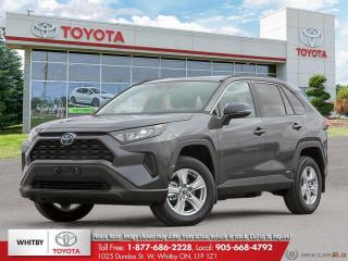 New 2021 Toyota RAV4 Hybrid LE for sale in Whitby, ON