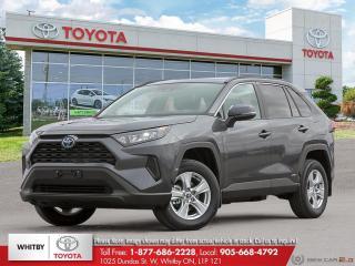 New 2021 Toyota RAV4 Hybrid LE for sale in Whitby, ON