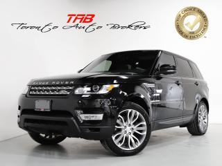 Used 2017 Land Rover Range Rover Sport Td6 HSE I DIESEL I PANO I NAV I 21 INCH WHEEL for sale in Vaughan, ON