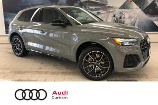 Used 2021 Audi Q5 45 Technik + S-Line Black Package | Demo! for sale in Whitby, ON
