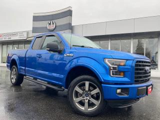 Used 2015 Ford F-150 SPORT FX4 S/C LB 5.0L 4WD LEATHER NAVI CAMERA for sale in Langley, BC