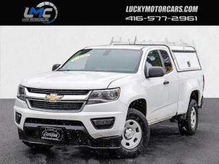 Used 2017 Chevrolet Colorado EXT CAB-BACKUP CAMERA-BLUETOOTH-MATCHING CAP/LADDER RACKS for sale in Toronto, ON