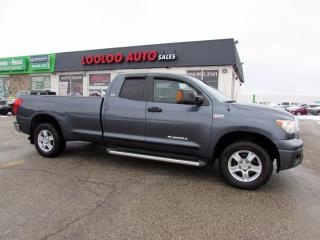 Used 2008 Toyota Tundra SR5 Double Cab 5.7L Long 8 Foot Bed Certified 2008 Toyota Tundra SR5 Double Cab 5.7L Long Bed for sale in Milton, ON