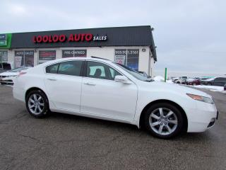 Used 2013 Acura TL Tech Package Navigation Camera Certified for sale in Milton, ON