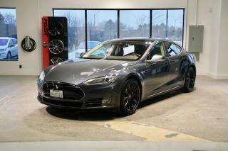 Used 2014 Tesla Model S P85D AUTOPILOT, RECARO SEATS, CARFAX CLEAN for sale in Oakville, ON