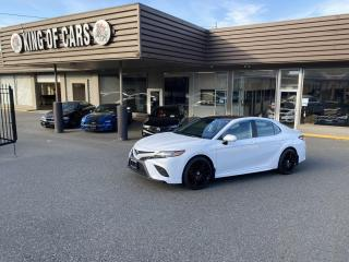 Used 2020 Toyota Camry SE WITH AUTONOMOUS BRAKING for sale in Langley, BC