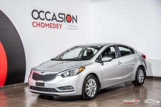 Used 2016 Kia Forte LX+SIEGES CHAUFFANTS+MAGS+BLUETHOOTH for sale in Laval, QC