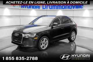 Used 2018 Audi Q3 GARANTIE + TOIT PANO + CUIR + MAGS + WOW for sale in Drummondville, QC