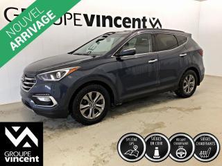 Used 2018 Hyundai Santa Fe SPORT LUXURY AWD GPS CUIR ** GARANTIE 10 ANS ** VUS à quatre roues motrices, bien équipé et confortable! for sale in Shawinigan, QC