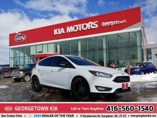 Used 2017 Ford Focus SEL | NAV | ROOF | BU CAM | B/TOOTH | 36K | TINTS for sale in Georgetown, ON