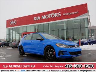 Used 2019 Volkswagen Golf GTI Rabbit GTI |CLN CARFX| 6 SPD M/T| BU CAM | 28,070K for sale in Georgetown, ON
