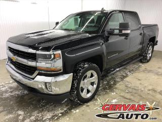 Used 2018 Chevrolet Silverado 1500 LT V8 4X4 CREW CAB Mags Caméra A/C Marche pieds for sale in Shawinigan, QC