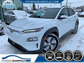 Used 2020 Hyundai KONA Electric EV PREFERRED  APPLE CARPLAY, VOLANT CHAU for sale in Blainville, QC