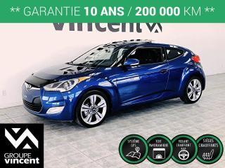Used 2016 Hyundai Veloster TECH CUIR NAV ** GARANTIE 10 ANS ** Bien équipé! for sale in Shawinigan, QC
