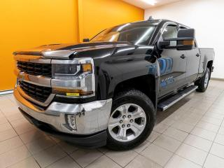 Used 2018 Chevrolet Silverado 1500 LT CREW 4X4 CHARGE SANS-FIL SIÈGES CHAUFF *NAV* for sale in St-Jérôme, QC