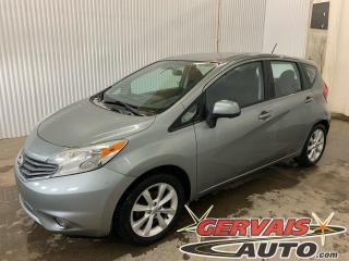Used 2014 Nissan Versa Note SL GPS Mags Caméra A/C Bluetooth *Transmission Automatique* for sale in Trois-Rivières, QC