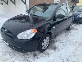 Used 2010 Hyundai Accent Hayon 3 portes, boîte automatique, L for sale in Pointe-Aux-Trembles, QC