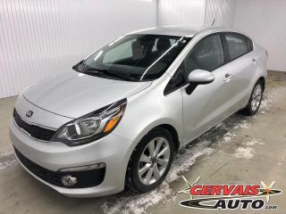 Used 2016 Kia Rio EX MAGS BLUETOOTH CAMÉRA *Transmission Automatique* for sale in Shawinigan, QC